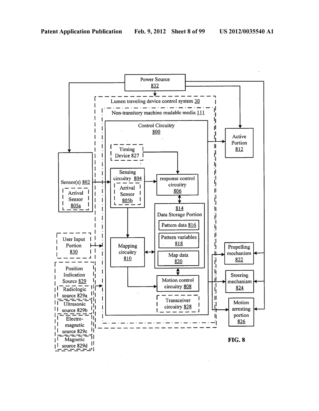 Event-based control of a lumen traveling device - diagram, schematic, and image 09