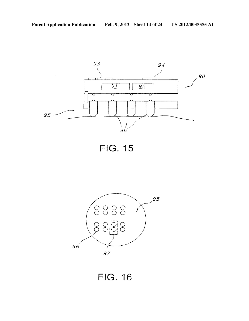 TRANSDERMAL PORATOR AND PATCH SYSTEM AND METHOD FOR USING SAME - diagram, schematic, and image 15