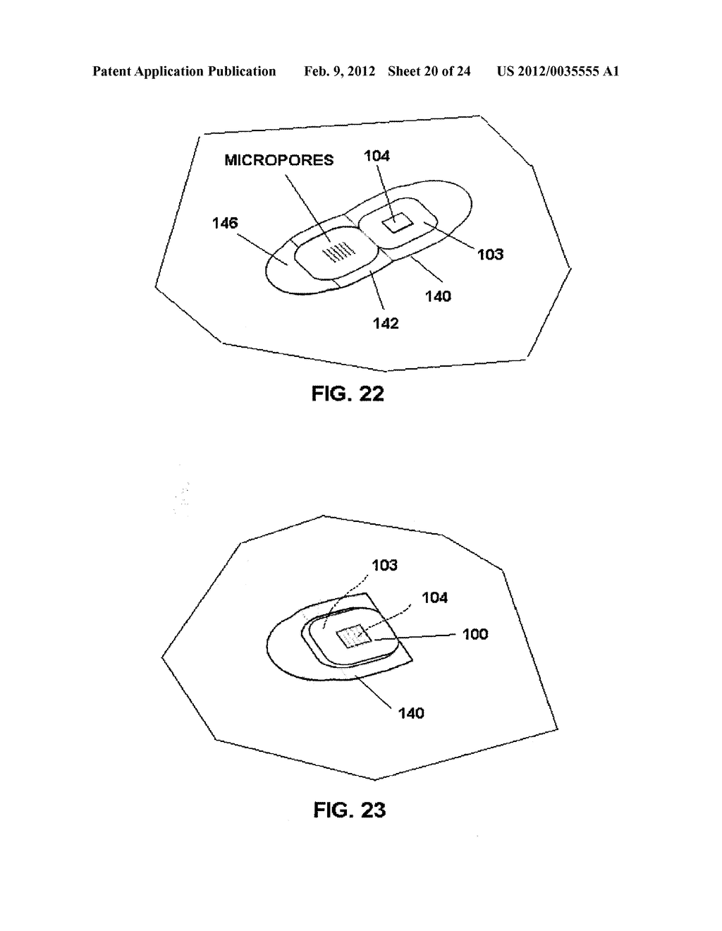 TRANSDERMAL PORATOR AND PATCH SYSTEM AND METHOD FOR USING SAME - diagram, schematic, and image 21