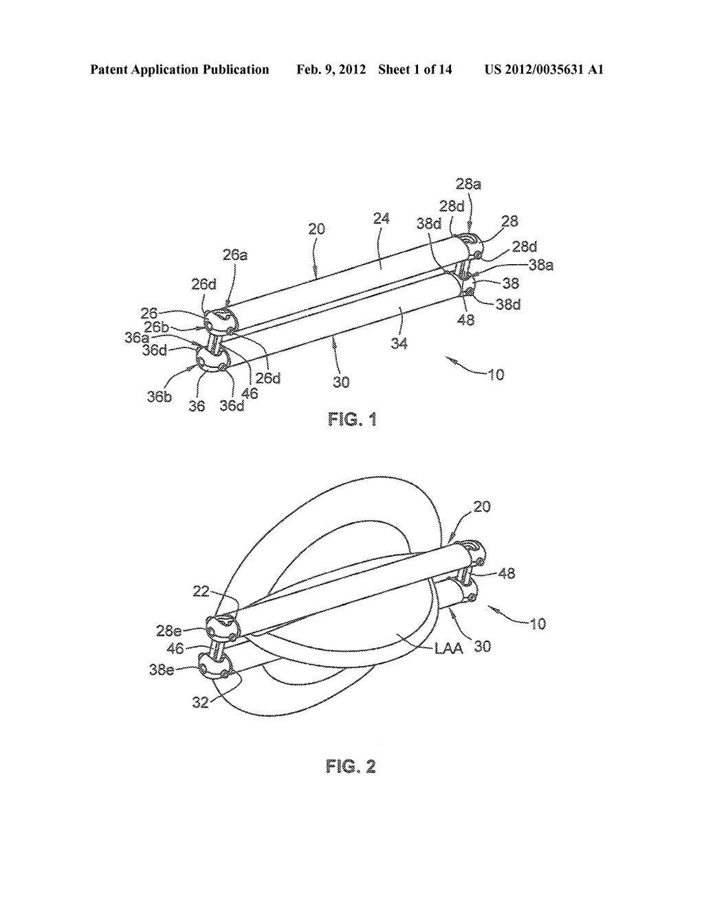 APPARATUS AND METHODS FOR OCCLUDING AN ANATOMICAL STRUCTURE - diagram, schematic, and image 02