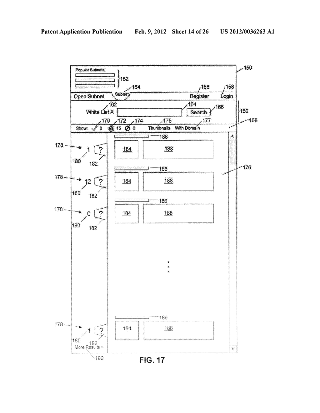 System and Method for Monitoring and Controlling Access to Web Content - diagram, schematic, and image 15
