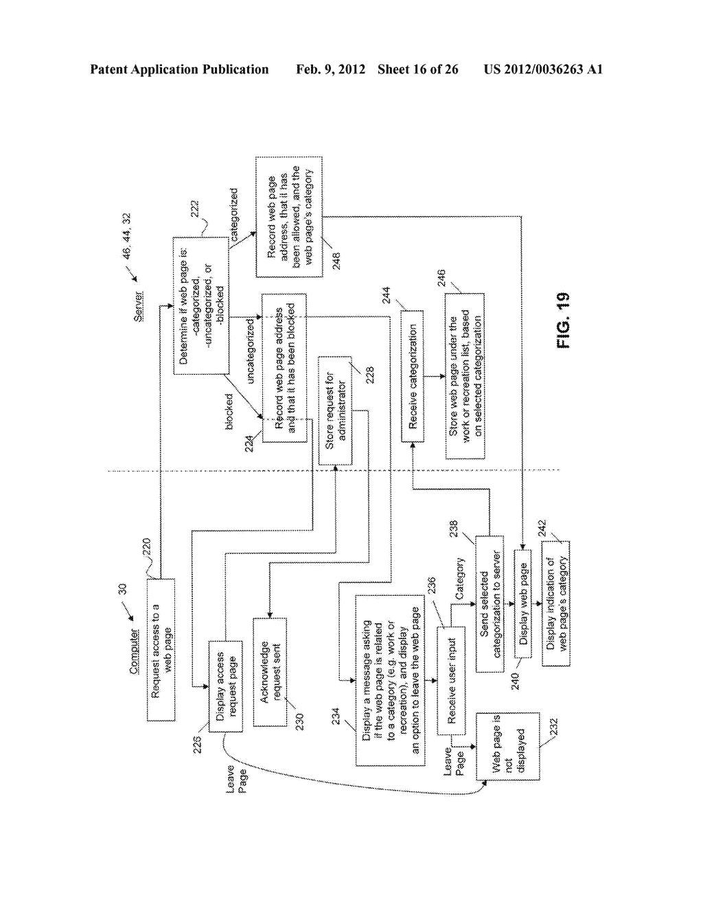 System and Method for Monitoring and Controlling Access to Web Content - diagram, schematic, and image 17