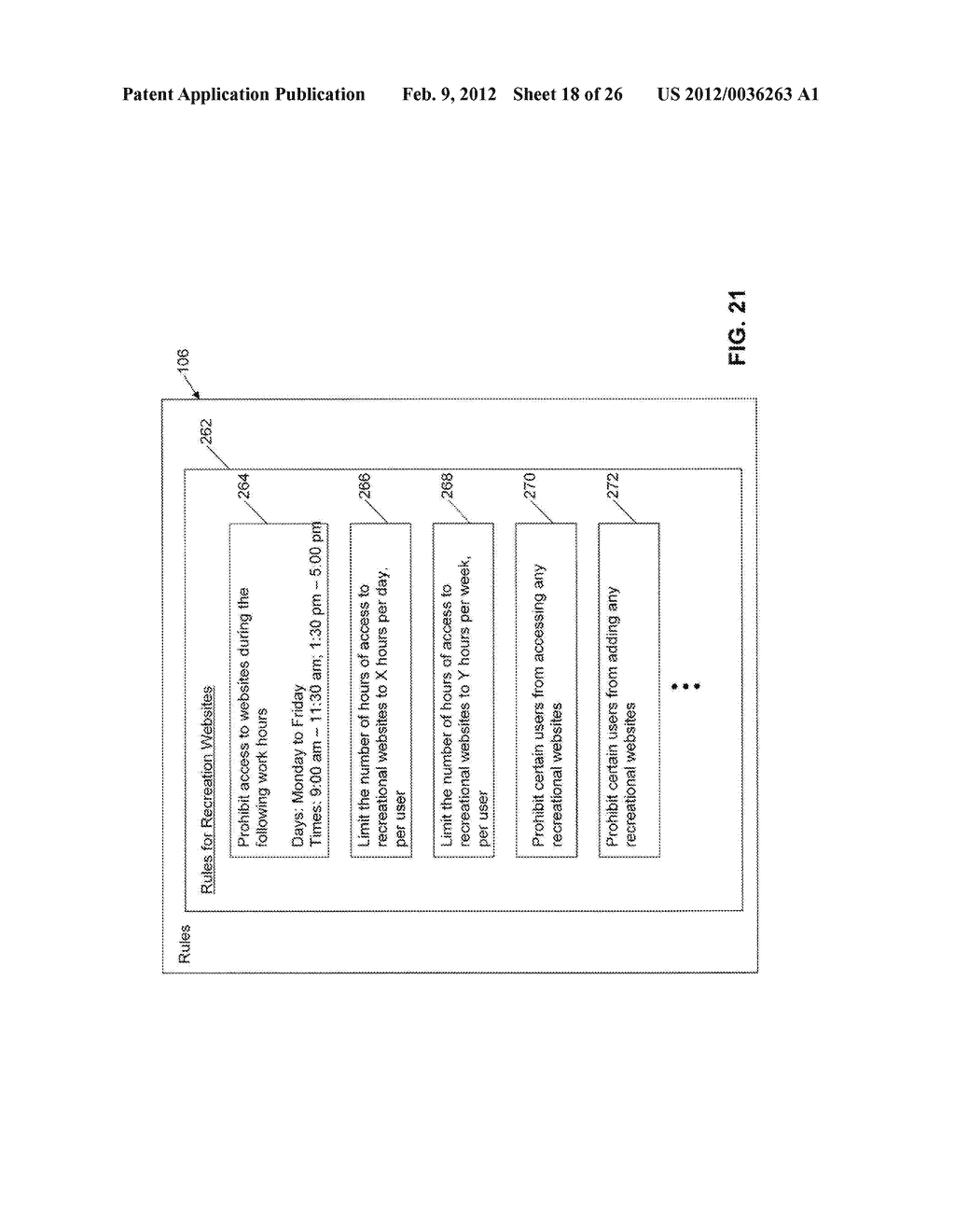 System and Method for Monitoring and Controlling Access to Web Content - diagram, schematic, and image 19