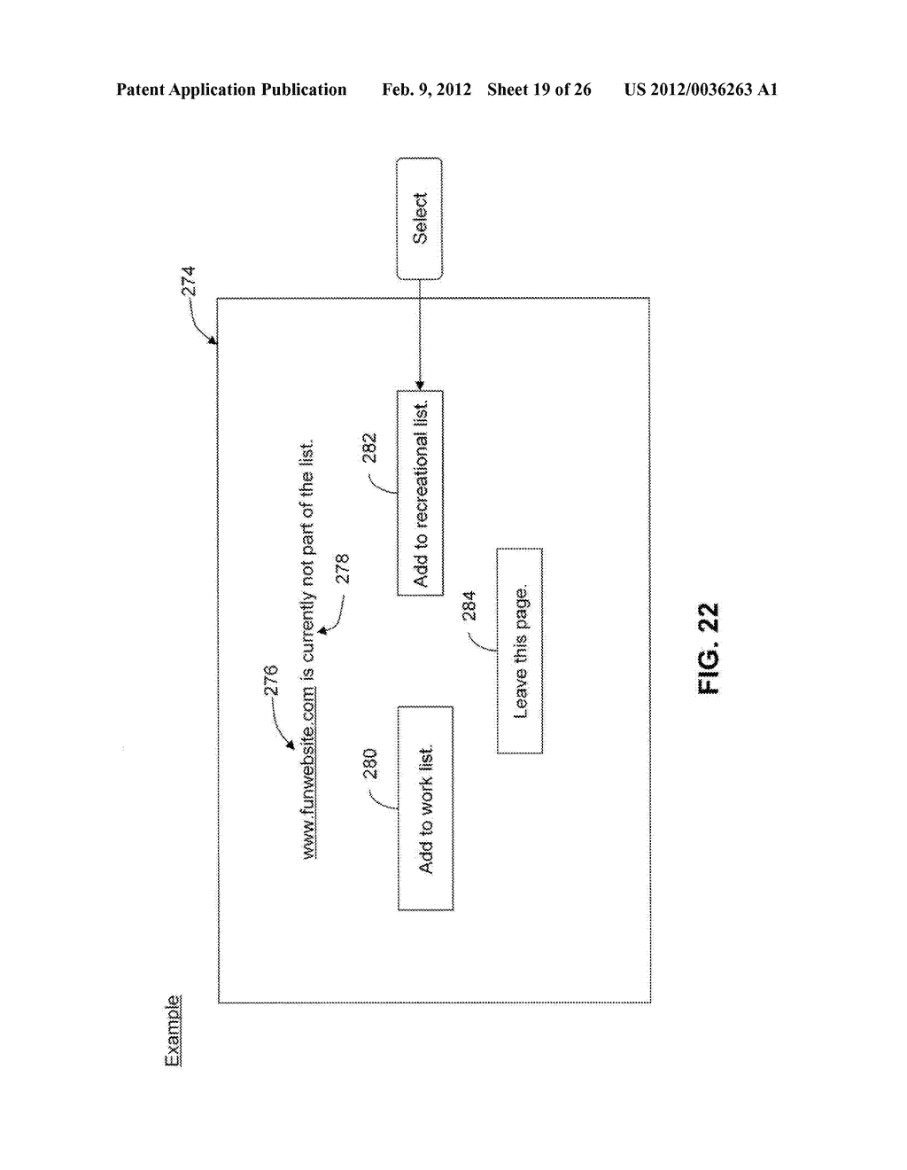 System and Method for Monitoring and Controlling Access to Web Content - diagram, schematic, and image 20