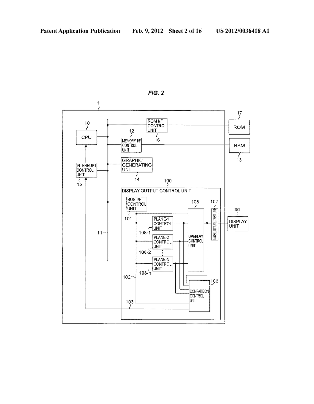 DISPLAY CONTROL APPARATUS - diagram, schematic, and image 03