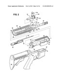 FIREARM INCLUDING IMPROVED HAND GUARD diagram and image