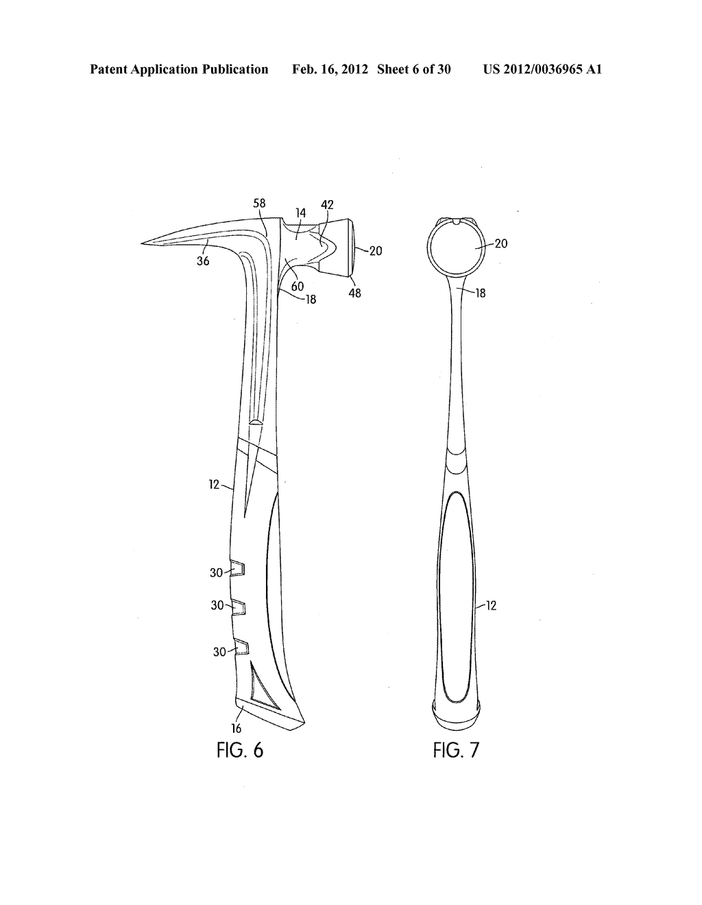 LARGE STRIKE FACE HAMMER - diagram, schematic, and image 07