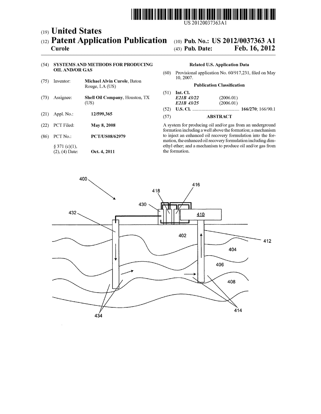 SYSTEMS AND METHODS FOR PRODUCING OIL AND/OR GAS - diagram, schematic, and image 01