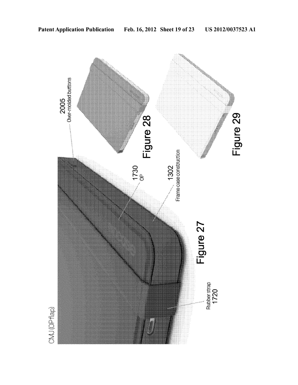 Case for Electronic Tablet - diagram, schematic, and image 20