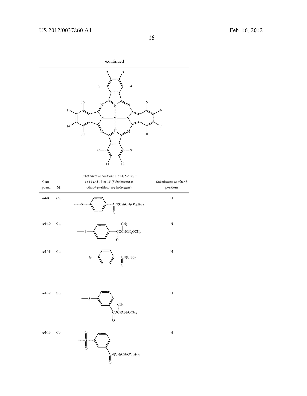 DYE-CONTAINING NEGATIVE CURABLE COMPOSITION, COLOR FILTER AND METHOD FOR     PRODUCING THE SAME - diagram, schematic, and image 17