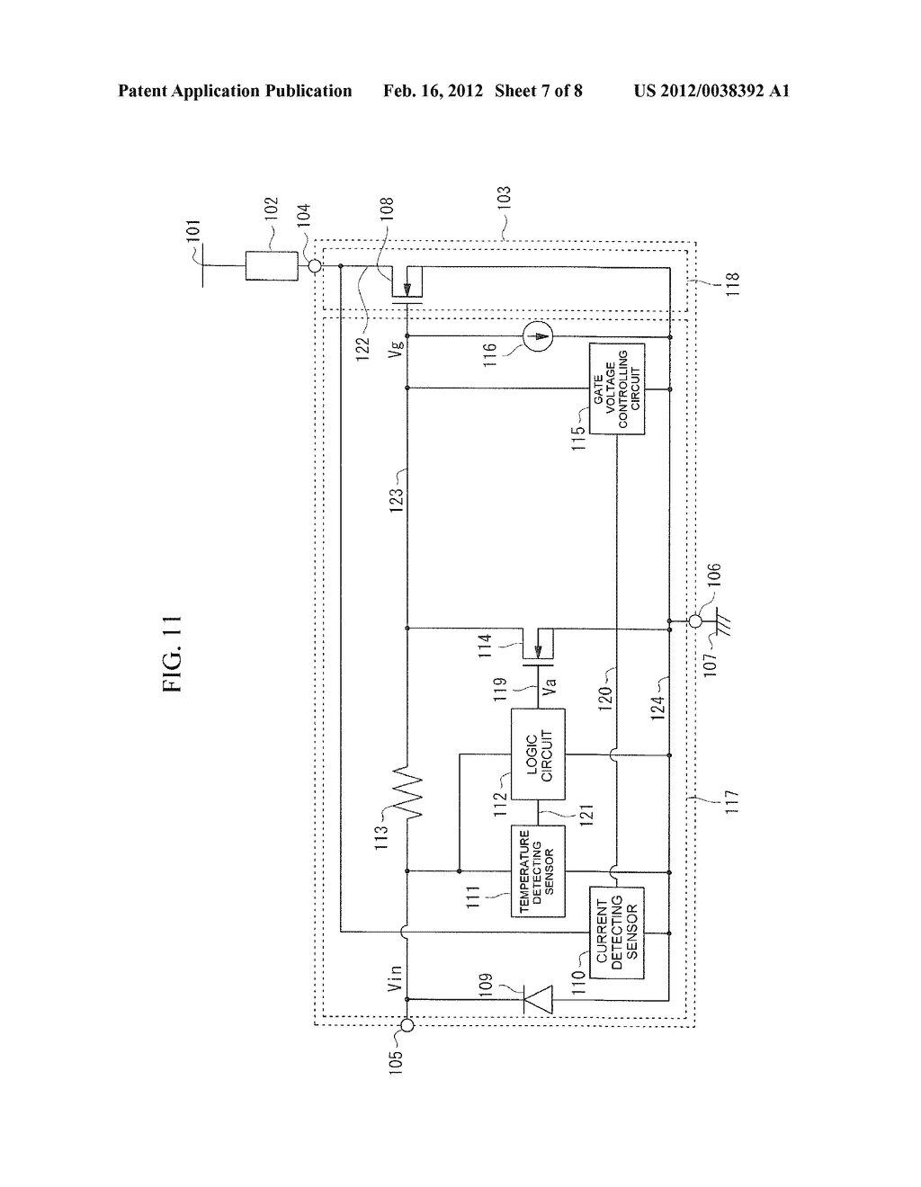 DRIVING CIRCUIT OF INSULATED GATE DEVICE - diagram, schematic, and image 08