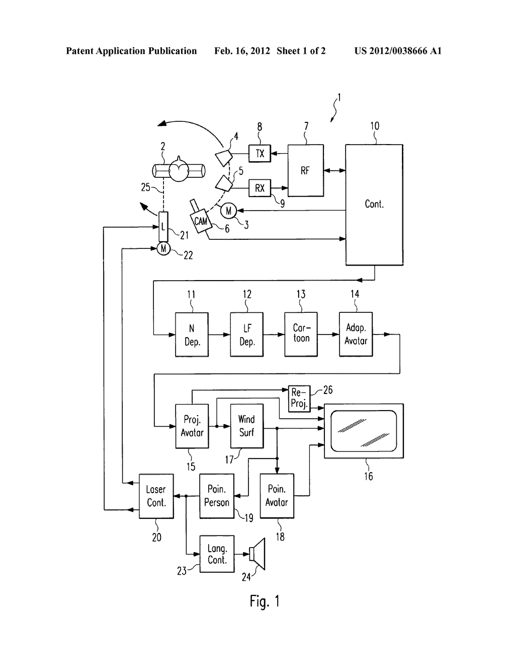 METHOD FOR CAPTURING AND DISPLAYING IMAGE DATA OF AN OBJECT - diagram, schematic, and image 02