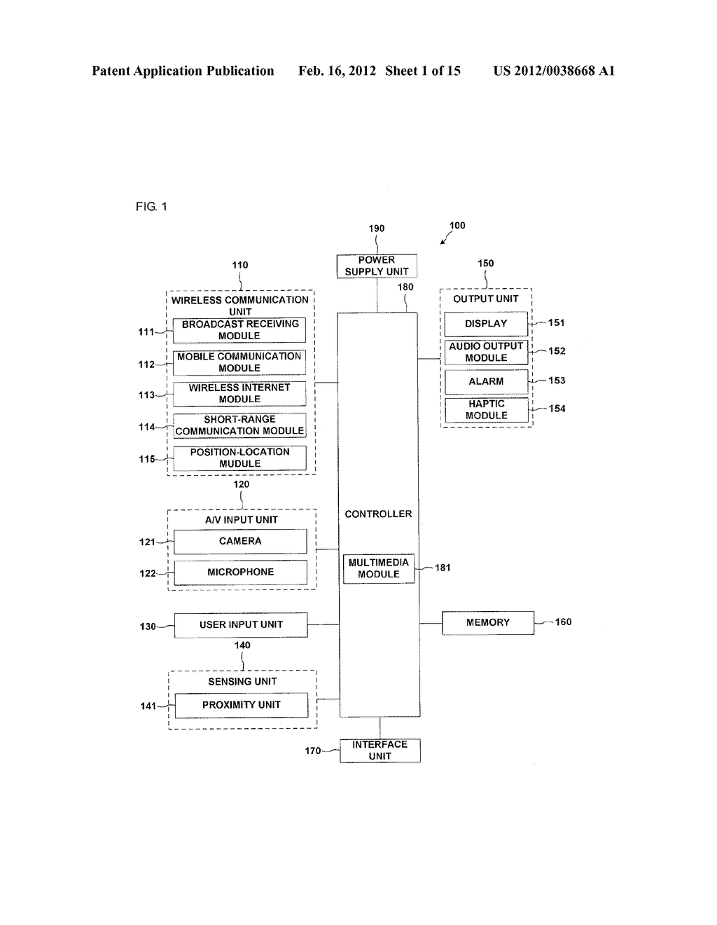 METHOD FOR DISPLAY INFORMATION AND MOBILE TERMINAL USING THE SAME - diagram, schematic, and image 02