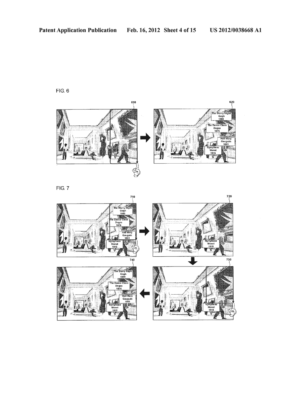 METHOD FOR DISPLAY INFORMATION AND MOBILE TERMINAL USING THE SAME - diagram, schematic, and image 05