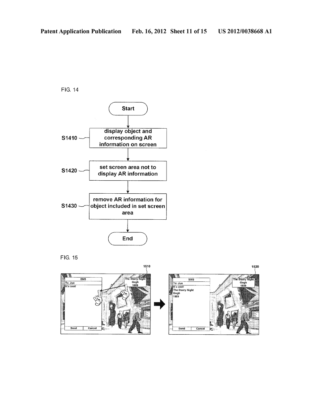 METHOD FOR DISPLAY INFORMATION AND MOBILE TERMINAL USING THE SAME - diagram, schematic, and image 12
