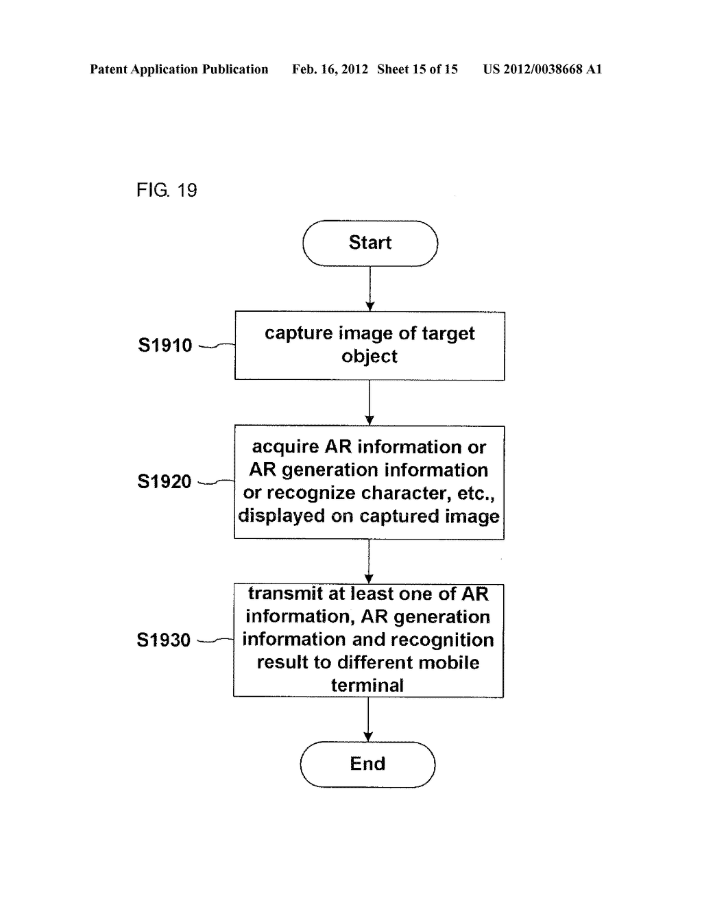 METHOD FOR DISPLAY INFORMATION AND MOBILE TERMINAL USING THE SAME - diagram, schematic, and image 16