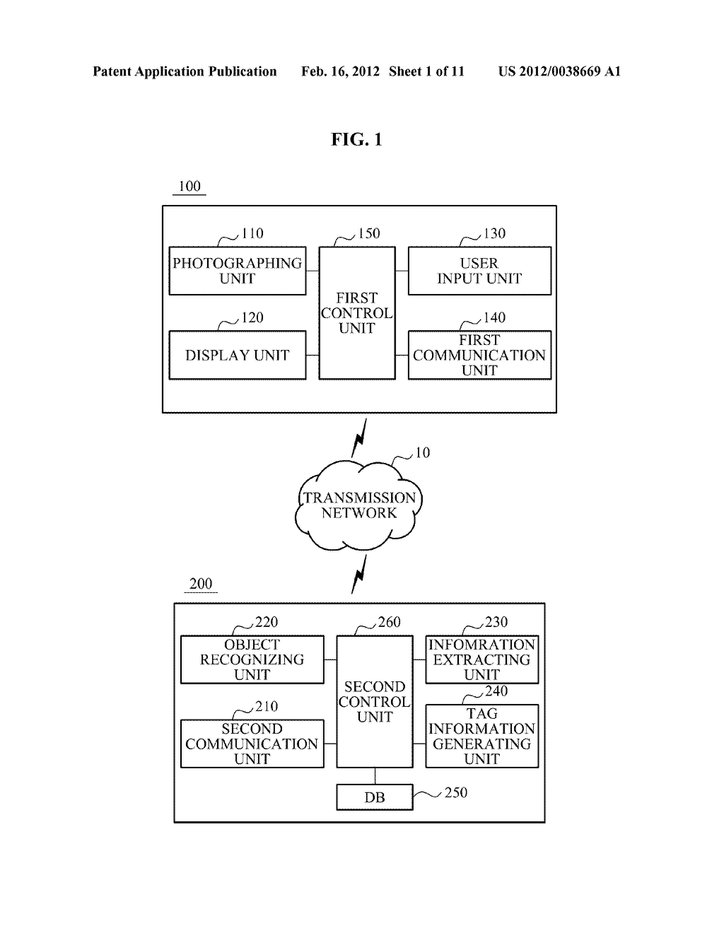 USER EQUIPMENT, SERVER, AND METHOD FOR SELECTIVELY FILTERING AUGMENTED     REALITY - diagram, schematic, and image 02