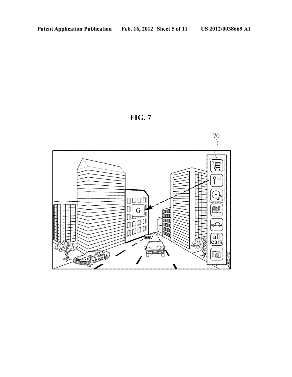 USER EQUIPMENT, SERVER, AND METHOD FOR SELECTIVELY FILTERING AUGMENTED     REALITY - diagram, schematic, and image 06