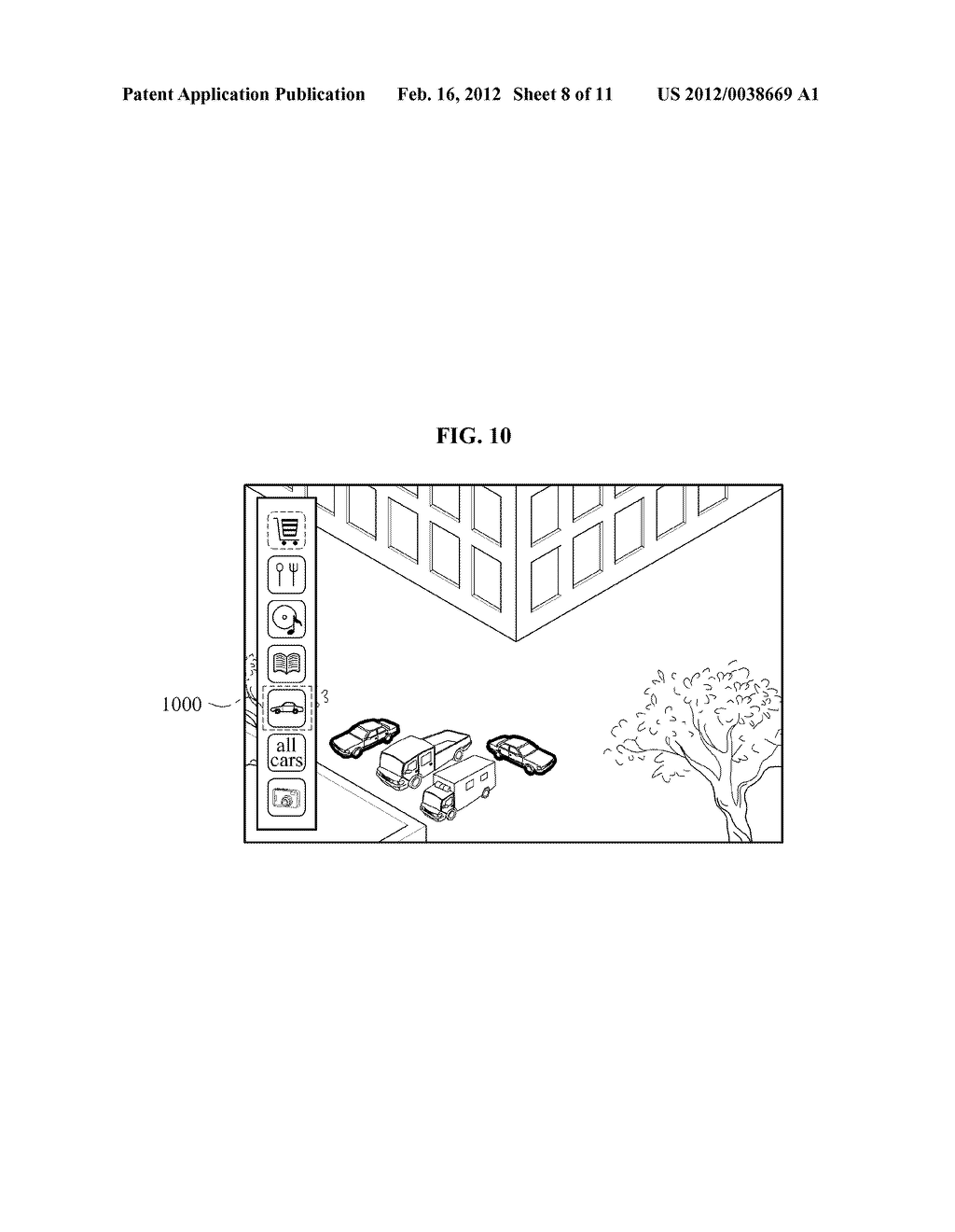 USER EQUIPMENT, SERVER, AND METHOD FOR SELECTIVELY FILTERING AUGMENTED     REALITY - diagram, schematic, and image 09