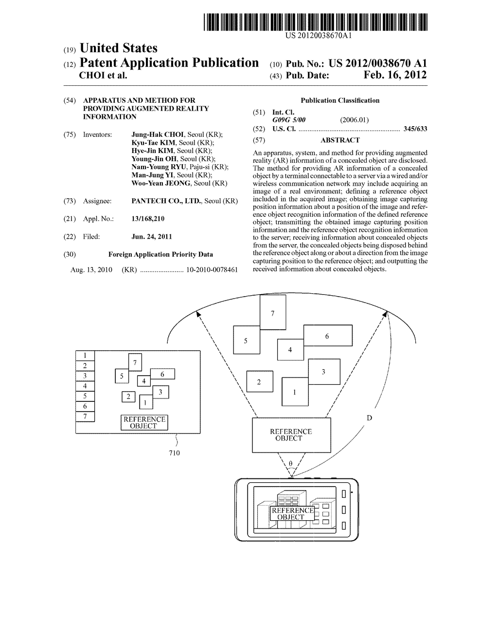 APPARATUS AND METHOD FOR PROVIDING AUGMENTED REALITY INFORMATION - diagram, schematic, and image 01