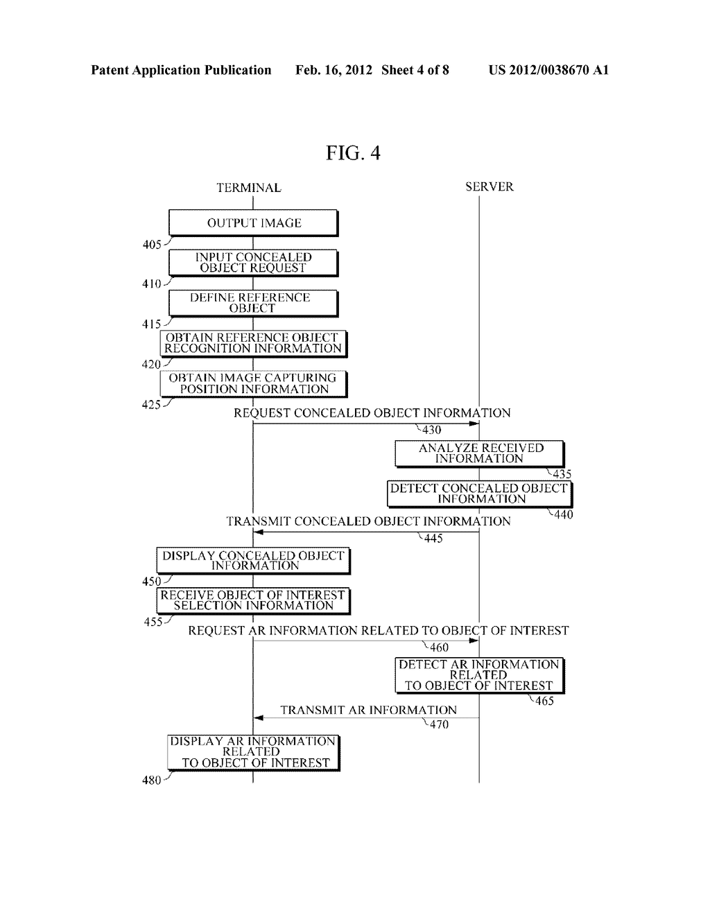 APPARATUS AND METHOD FOR PROVIDING AUGMENTED REALITY INFORMATION - diagram, schematic, and image 05