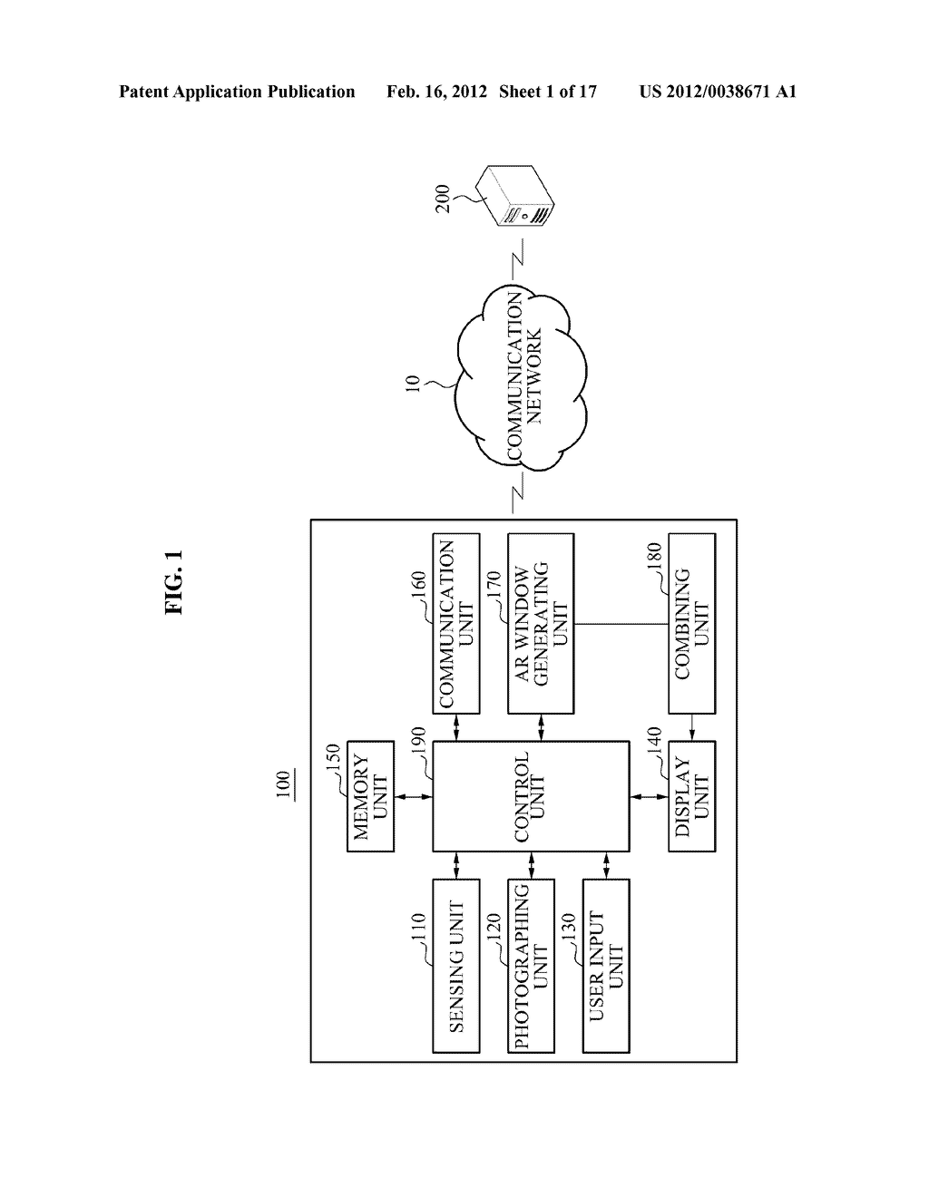 USER EQUIPMENT AND METHOD FOR DISPLAYING AUGMENTED REALITY WINDOW - diagram, schematic, and image 02