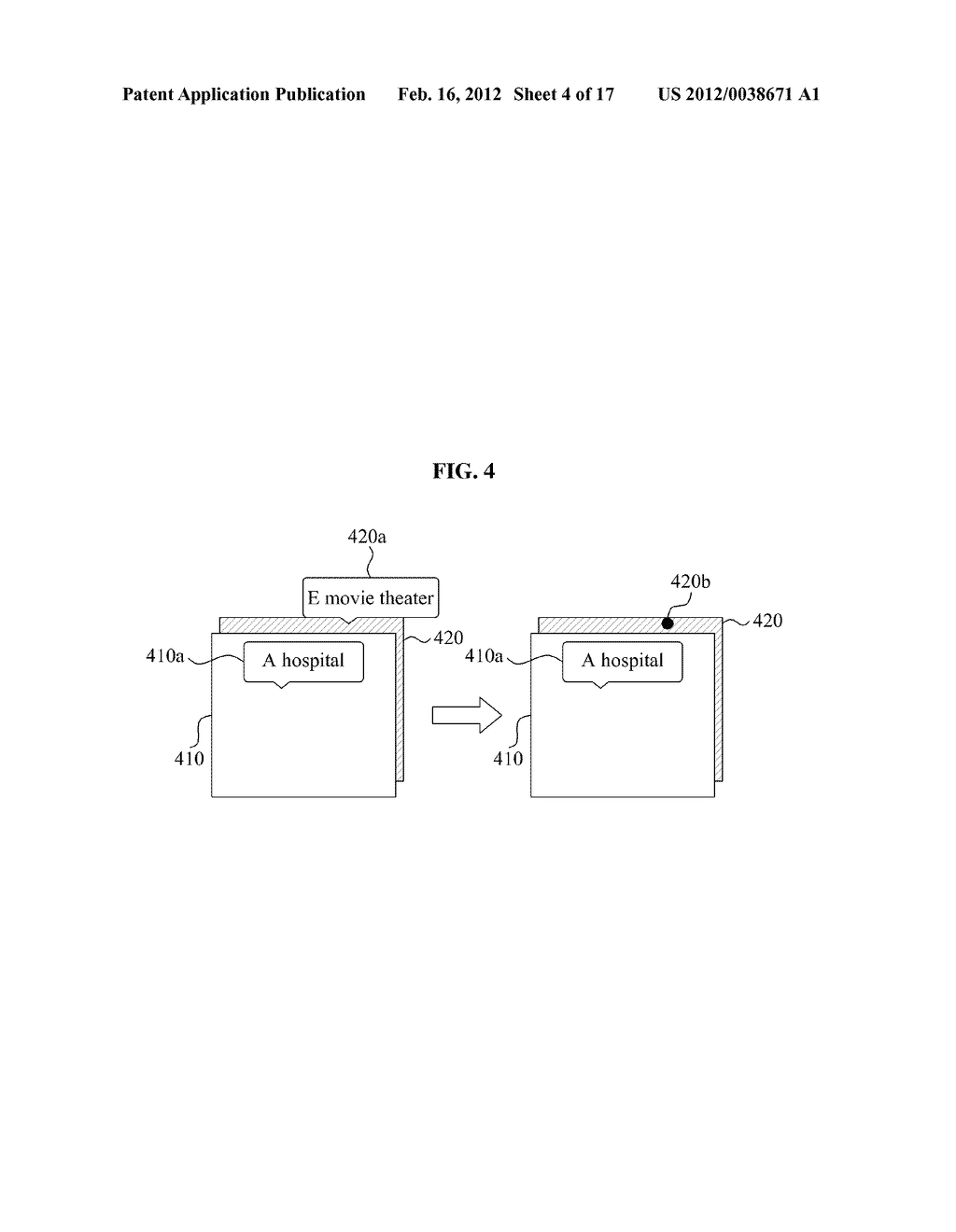 USER EQUIPMENT AND METHOD FOR DISPLAYING AUGMENTED REALITY WINDOW - diagram, schematic, and image 05