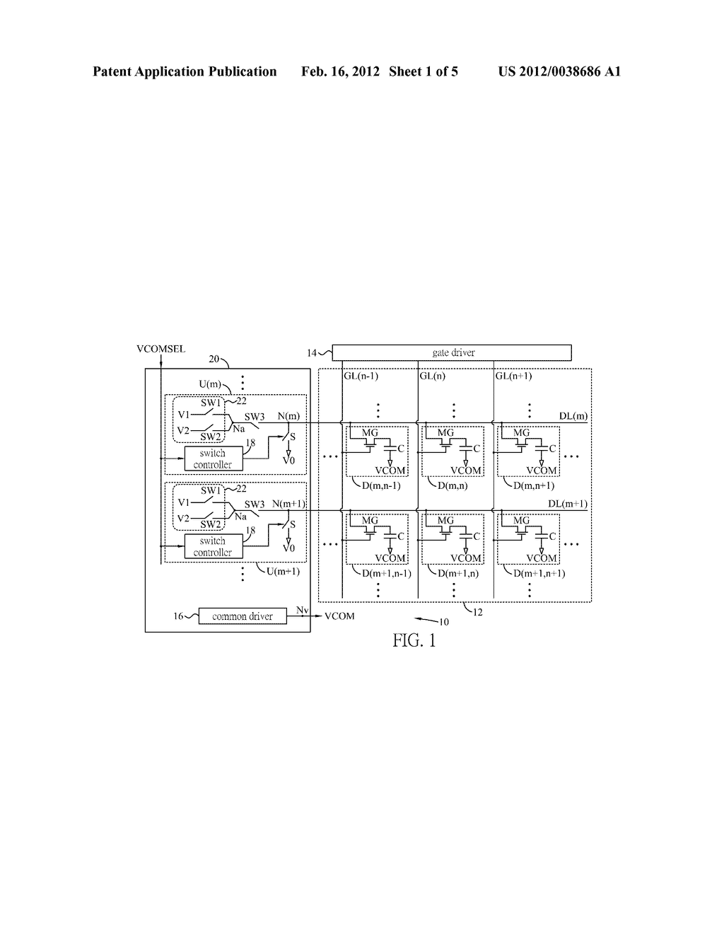 DRIVING CIRCUIT FOR DRIVING ELECTRONIC PAPER - diagram, schematic, and image 02
