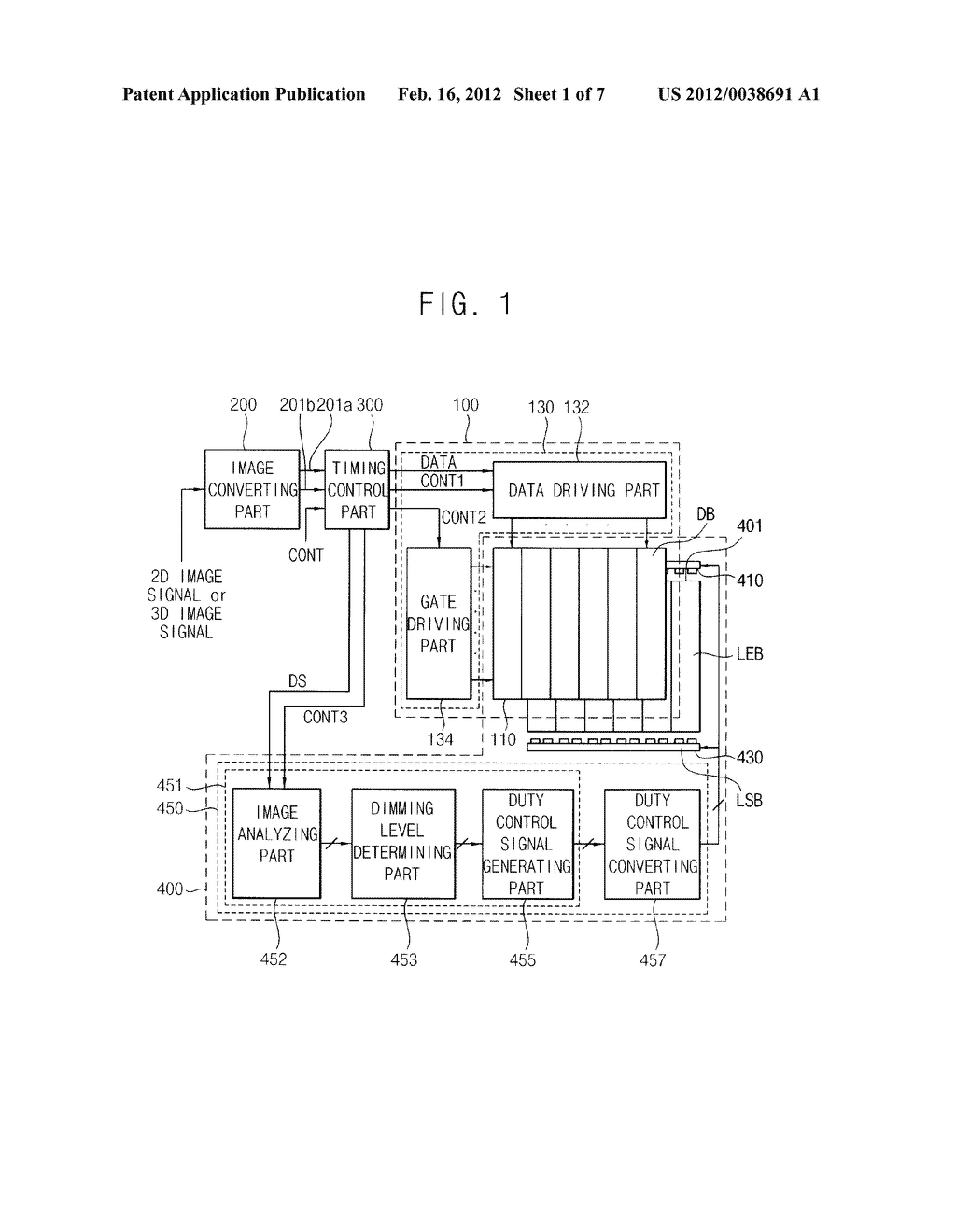METHOD OF DRIVING A LIGHT SOURCE AND DISPLAY APPARATUS FOR PERFORMING THE     METHOD - diagram, schematic, and image 02