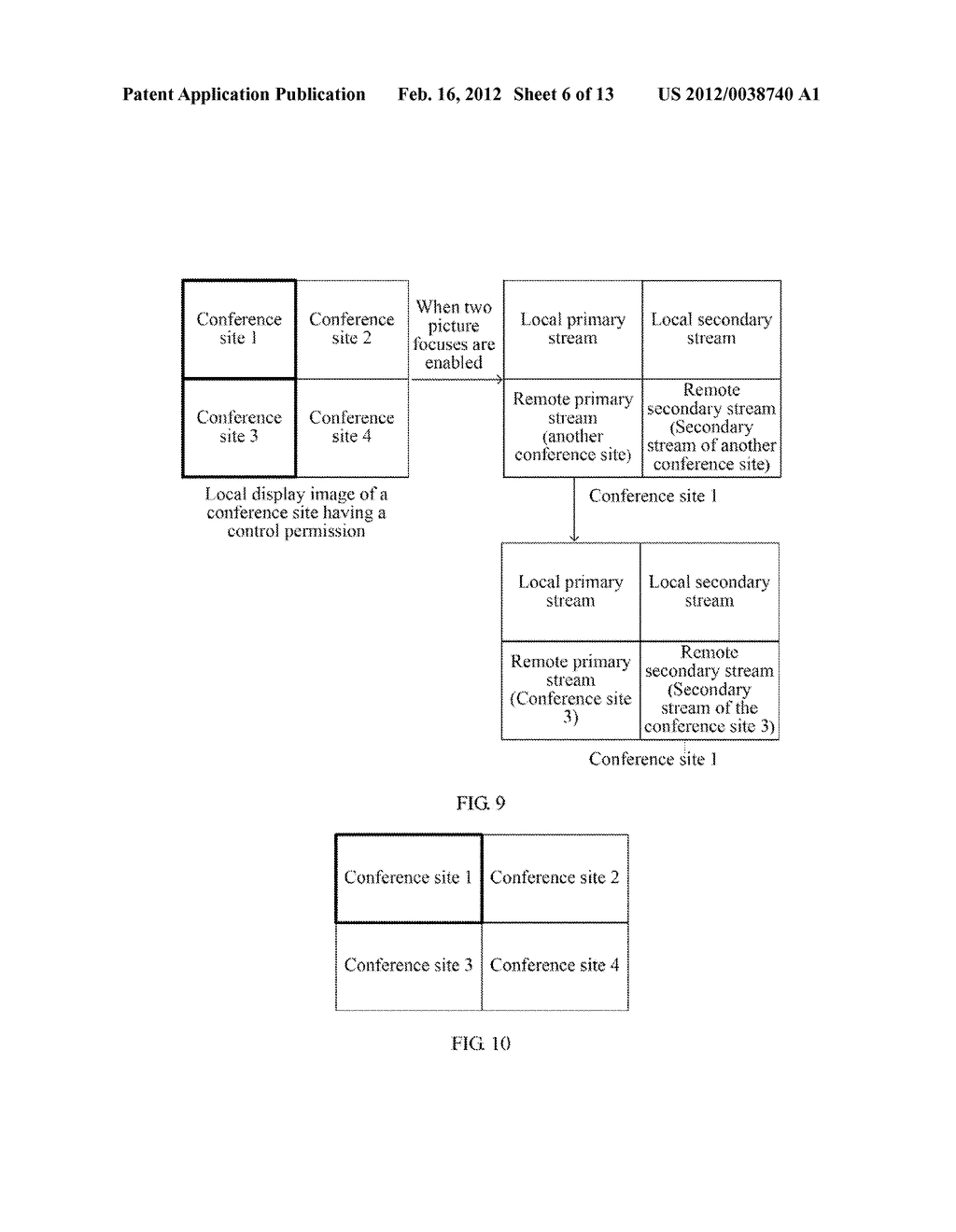 IMAGE-BASED VIDEO CONFERENCE CONTROL METHOD, TERMINAL, AND SYSTEM - diagram, schematic, and image 07