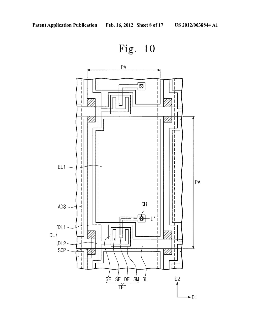 METHOD OF MANUFACTURING DISPLAY APPARATUS AND DISPLAY APPARATUS - diagram, schematic, and image 09