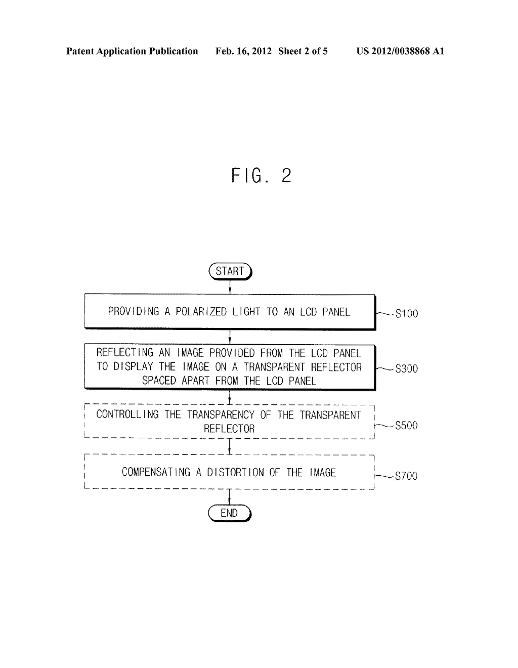 TRANSPARENT DISPLAY DEVICE AND DISPLAYING METHOD USING THE SAME - diagram, schematic, and image 03