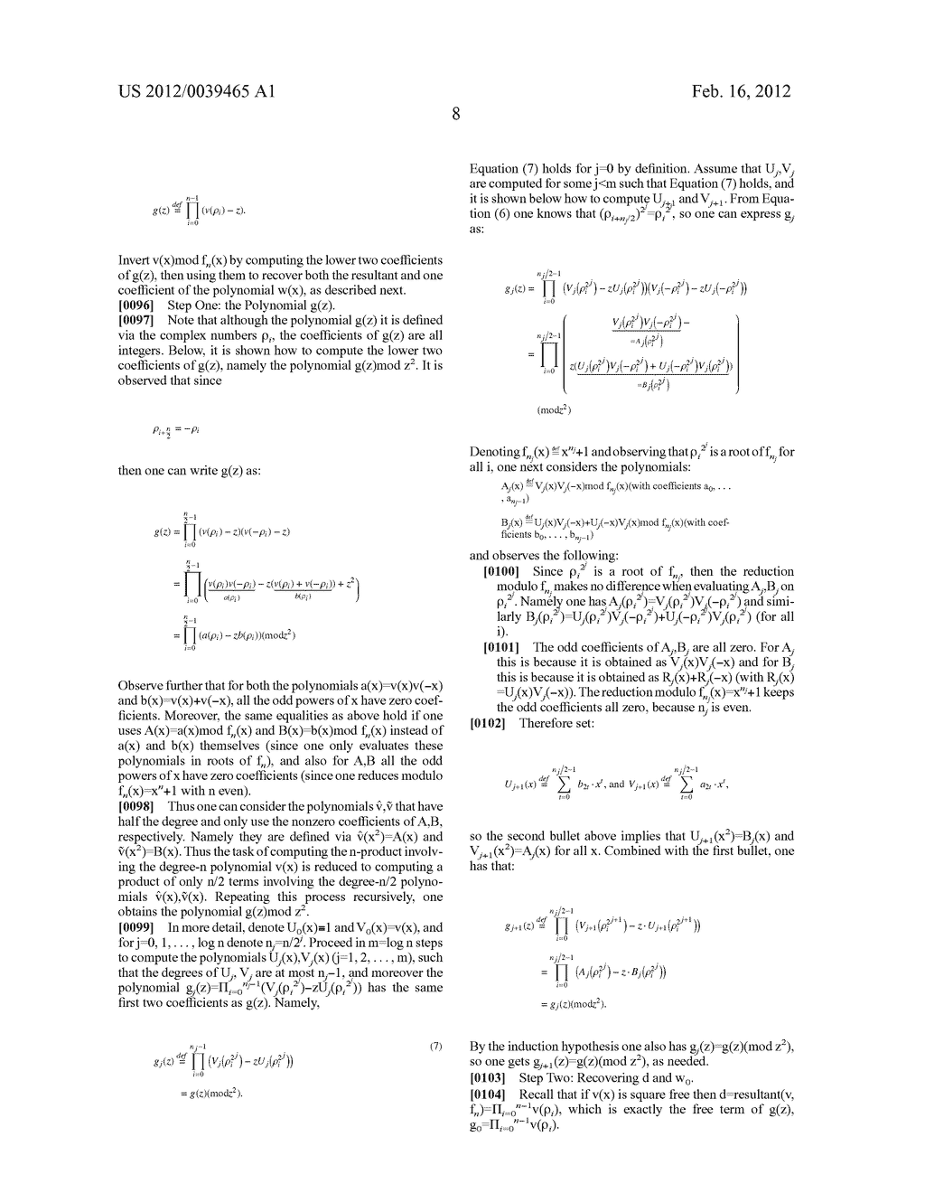 Fast Computation Of A Single Coefficient In An Inverse Polynomial - diagram, schematic, and image 17