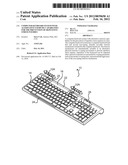Computer Keyboard System with Alternative Exercise Capabilities for the     Prevention of Repetitive Stress Injuries diagram and image