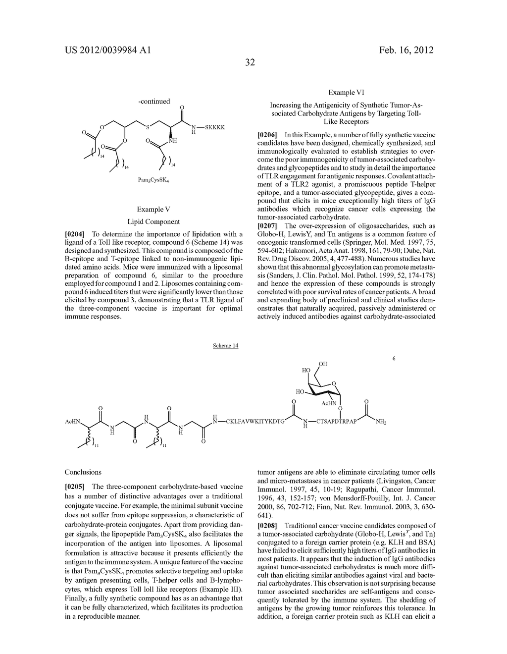 GLYCOPEPTIDE AND USES THEREOF - diagram, schematic, and image 67
