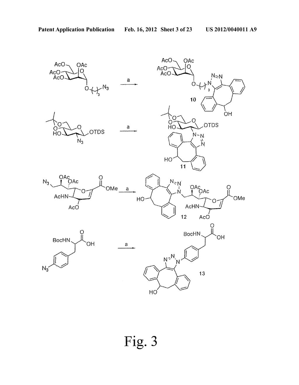 ALKYNES AND METHODS OF REACTING ALKYNES WITH 1,3-DIPOLE-FUNCTIONAL     COMPOUNDS - diagram, schematic, and image 04