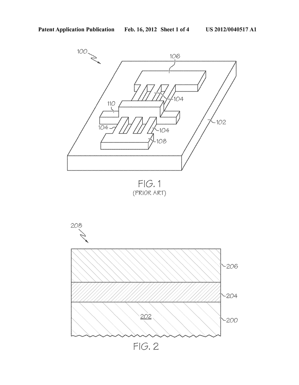 METHODS FOR FORMING ISOLATED FIN STRUCTURES ON BULK SEMICONDUCTOR MATERIAL - diagram, schematic, and image 02