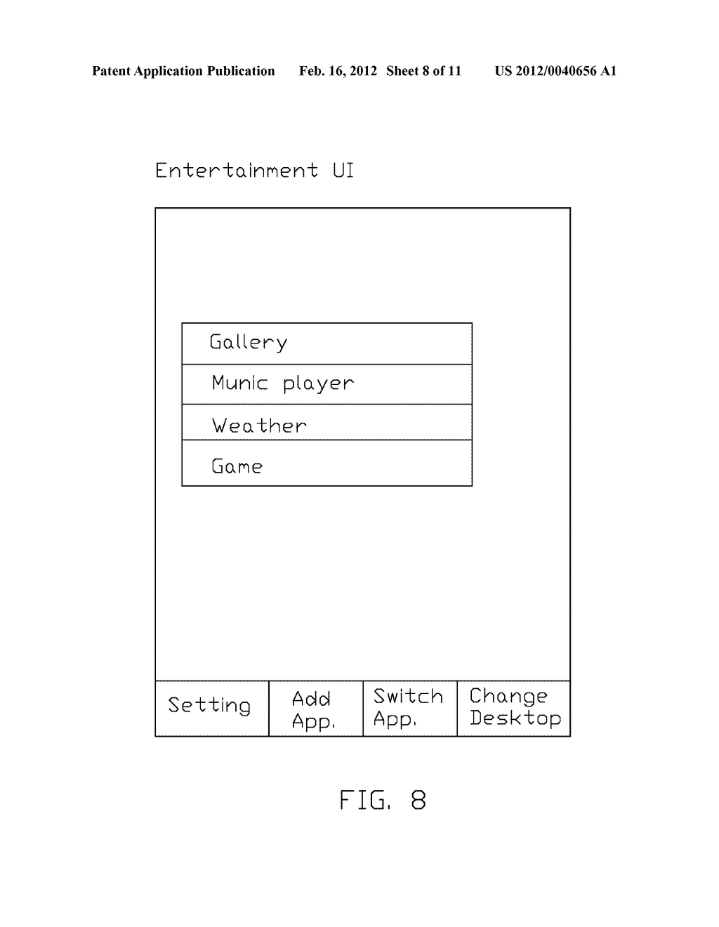 ELECTRONIC DEVICE AND METHOD FOR CONTROLLING THE WORKING MODE THEREOF - diagram, schematic, and image 09
