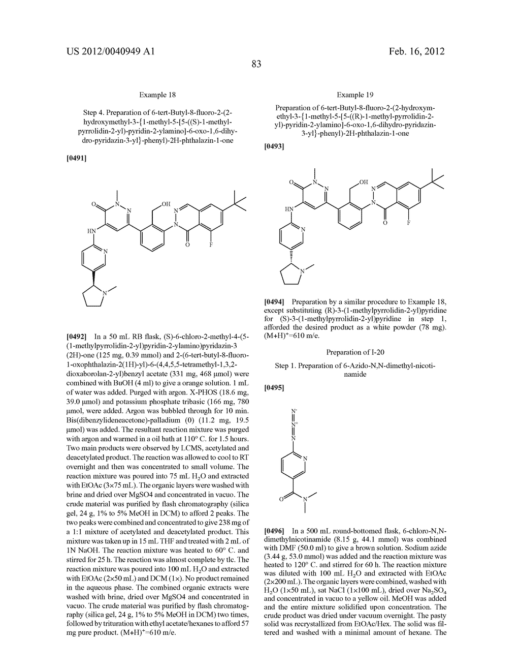 Inhibitors of Bruton's Tyrosine Kinase - diagram, schematic, and image 84
