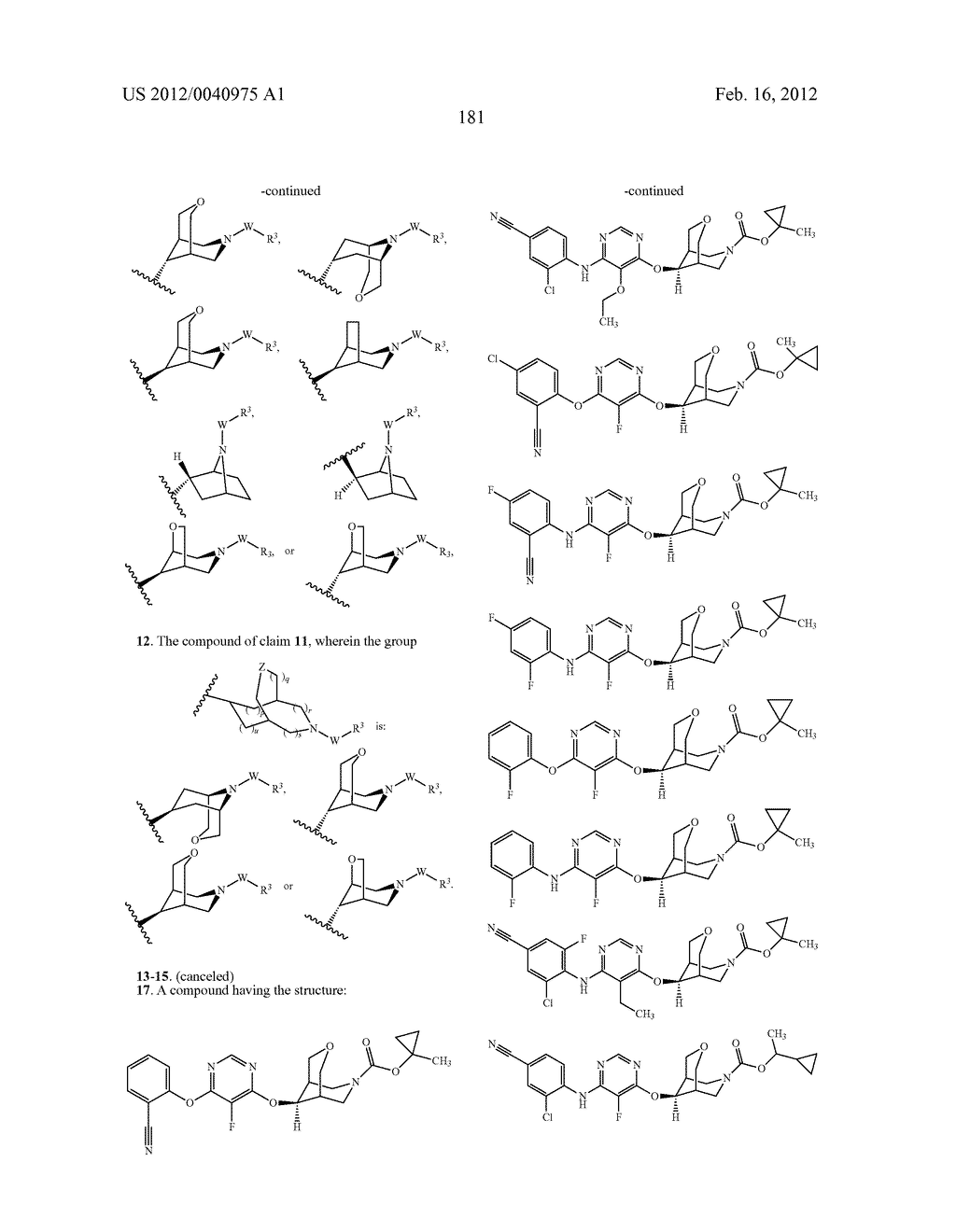 BRIDGED BICYCLIC HETEROCYCLE DERIVATIVES AND METHODS OF USE THEREOF - diagram, schematic, and image 182