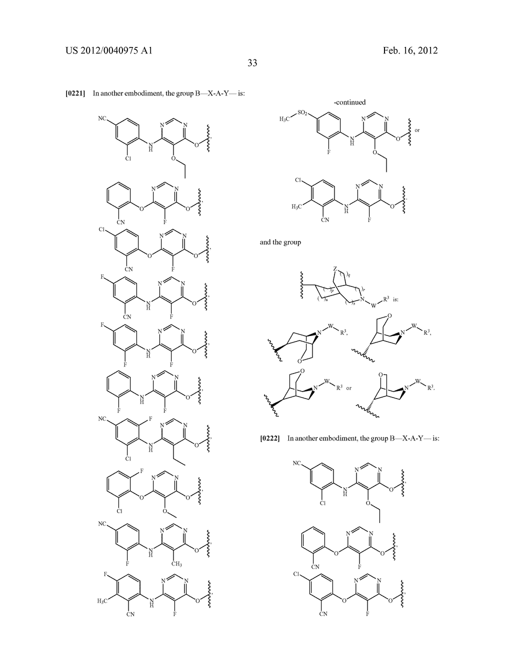 BRIDGED BICYCLIC HETEROCYCLE DERIVATIVES AND METHODS OF USE THEREOF - diagram, schematic, and image 34