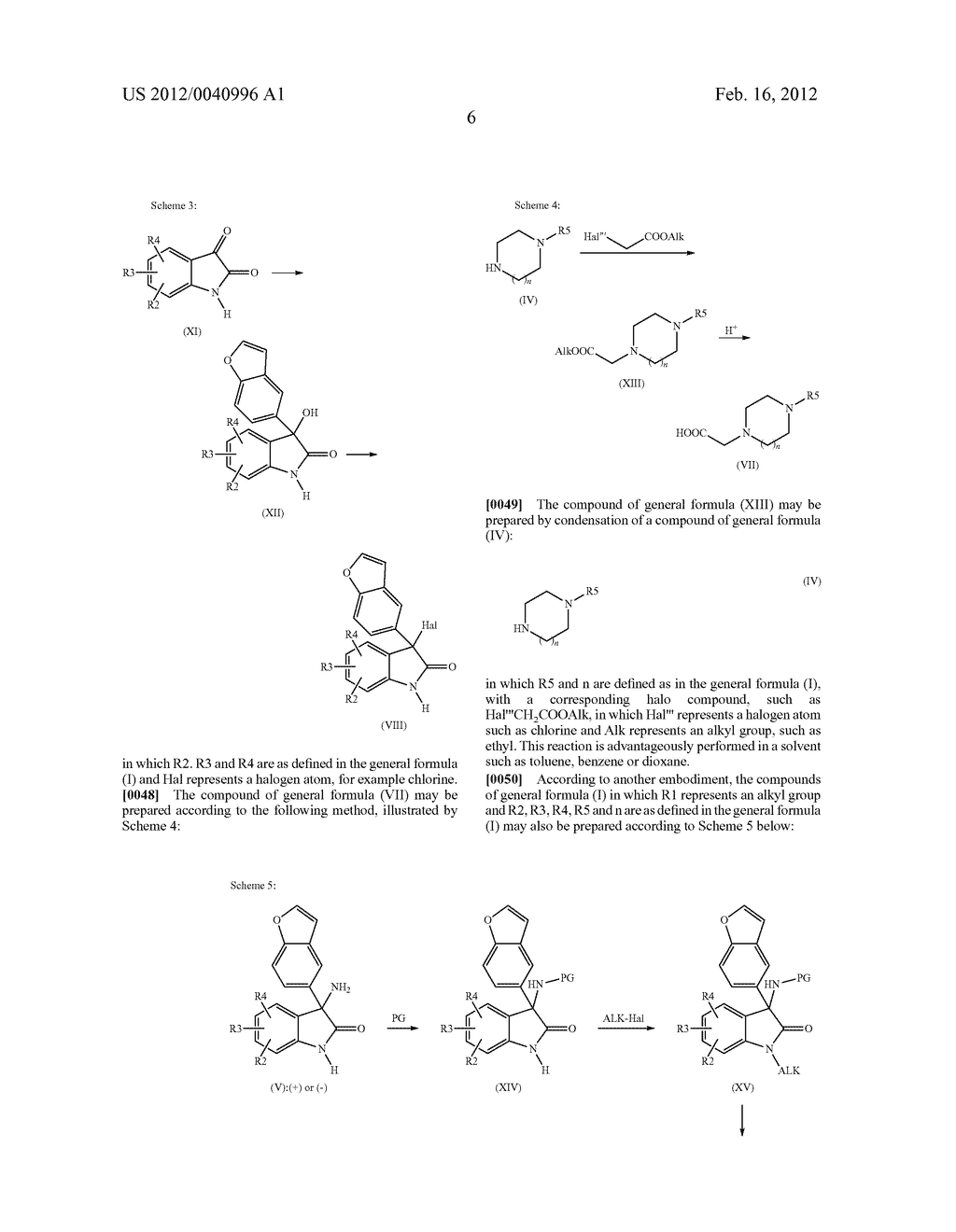 3-BENZOFURANYL-INDOL-2-ONE DERIVATIVES SUBSTITUTED AT THE 3 POSITION,     PREPARATION THEREOF, AND THERAPEUTIC USE THEREOF - diagram, schematic, and image 07