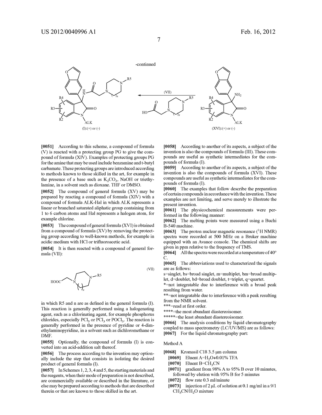 3-BENZOFURANYL-INDOL-2-ONE DERIVATIVES SUBSTITUTED AT THE 3 POSITION,     PREPARATION THEREOF, AND THERAPEUTIC USE THEREOF - diagram, schematic, and image 08