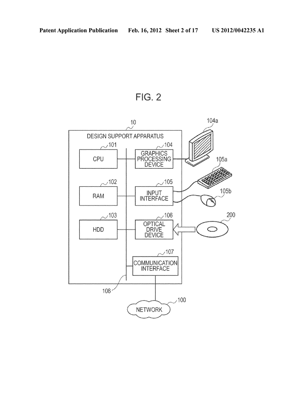 DESIGN SUPPORT APPARATUS, DESIGN SUPPORT METHOD, AND NON-TRANSITORY     COMPUTER-READABLE MEDIUM STORING DESIGN SUPPORT PROGRAM - diagram, schematic, and image 03