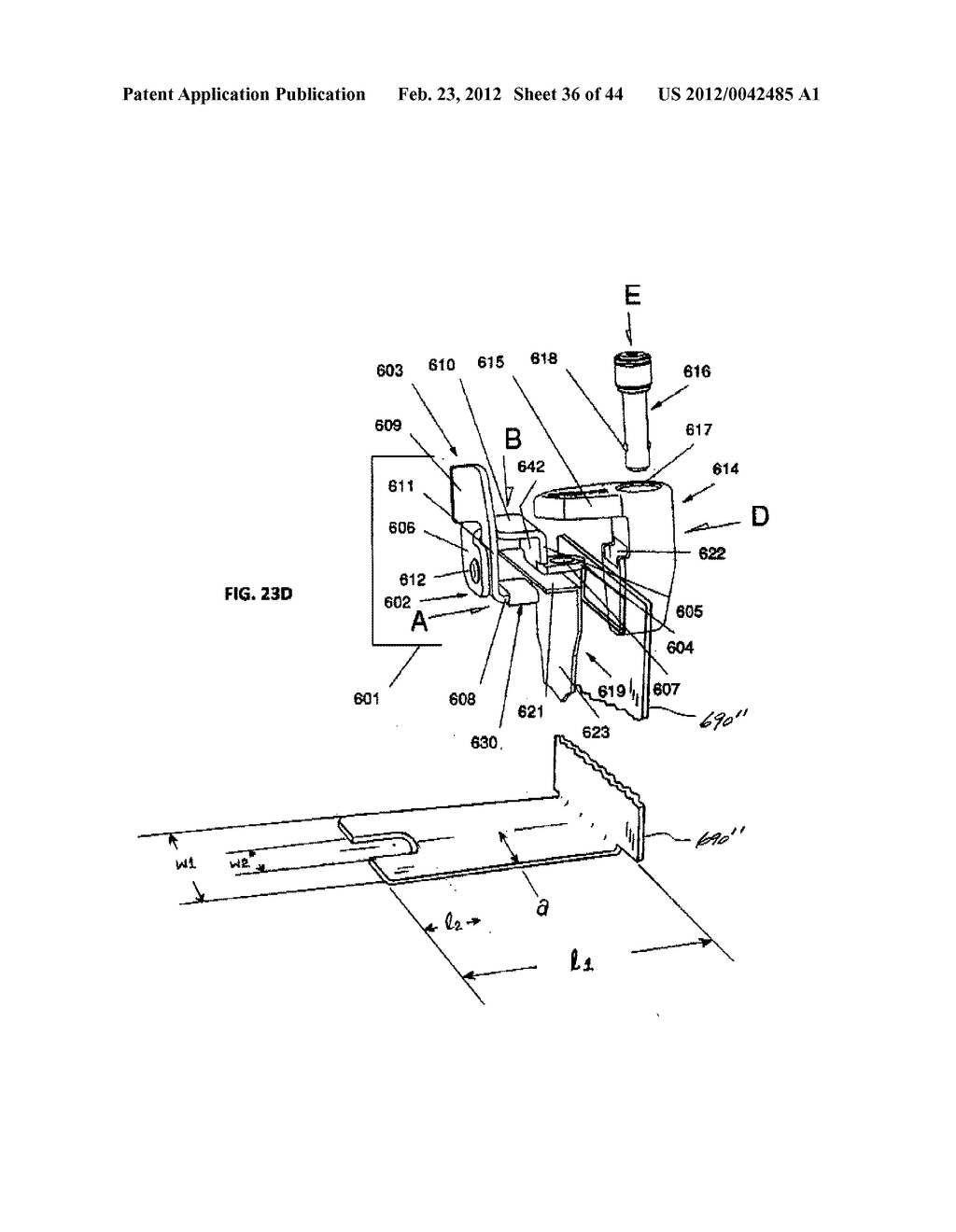 Security Bracket Apparatus and Method - diagram, schematic, and image 37