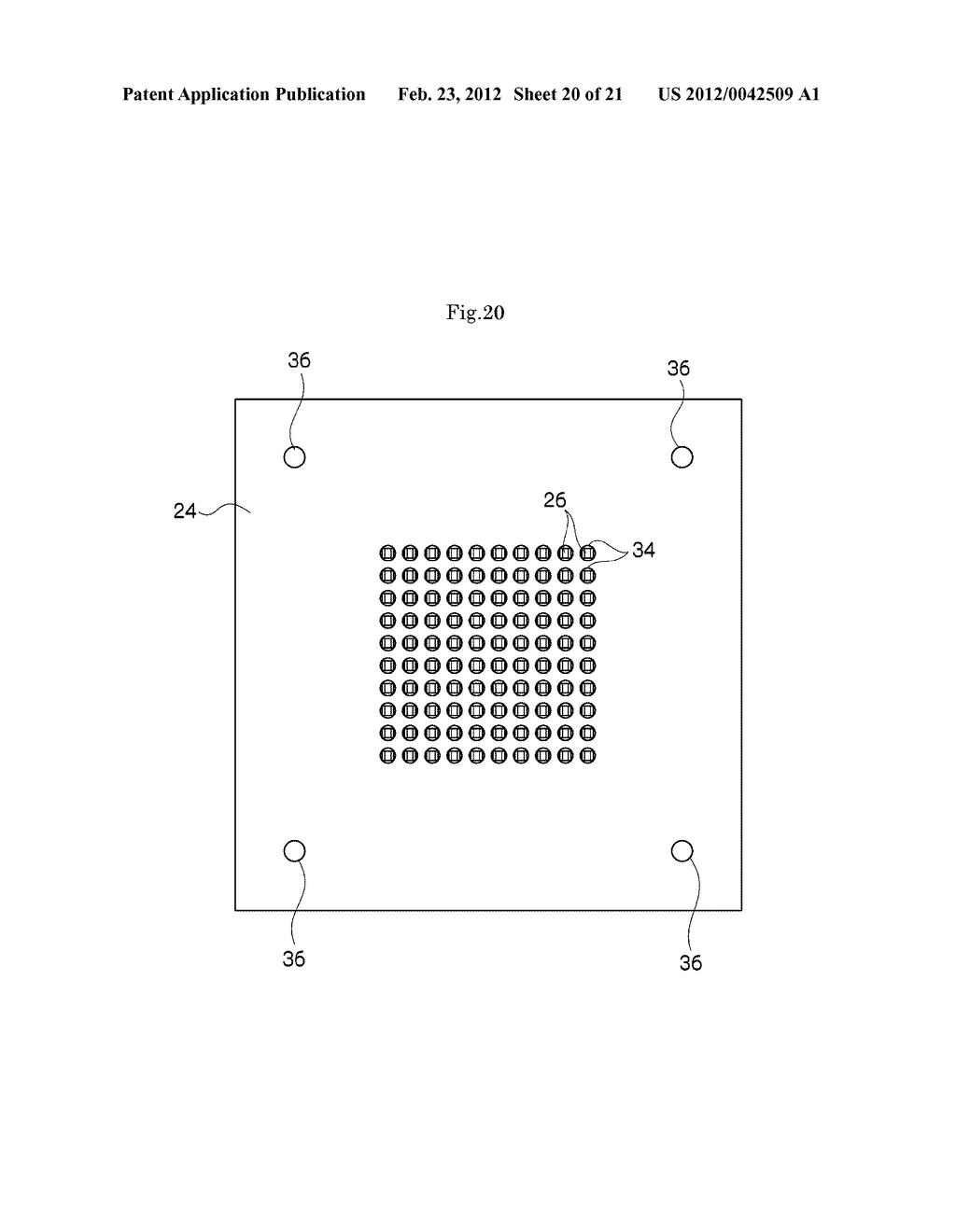 METHOD FOR MANUFACTURING PROBE CARD - diagram, schematic, and image 21