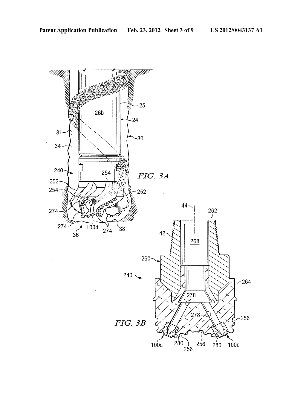 Rotary Drill Bit with Nozzles Designed to Enhance Hydraulic Performance     and Drilling Fluid Efficiency - diagram, schematic, and image 04