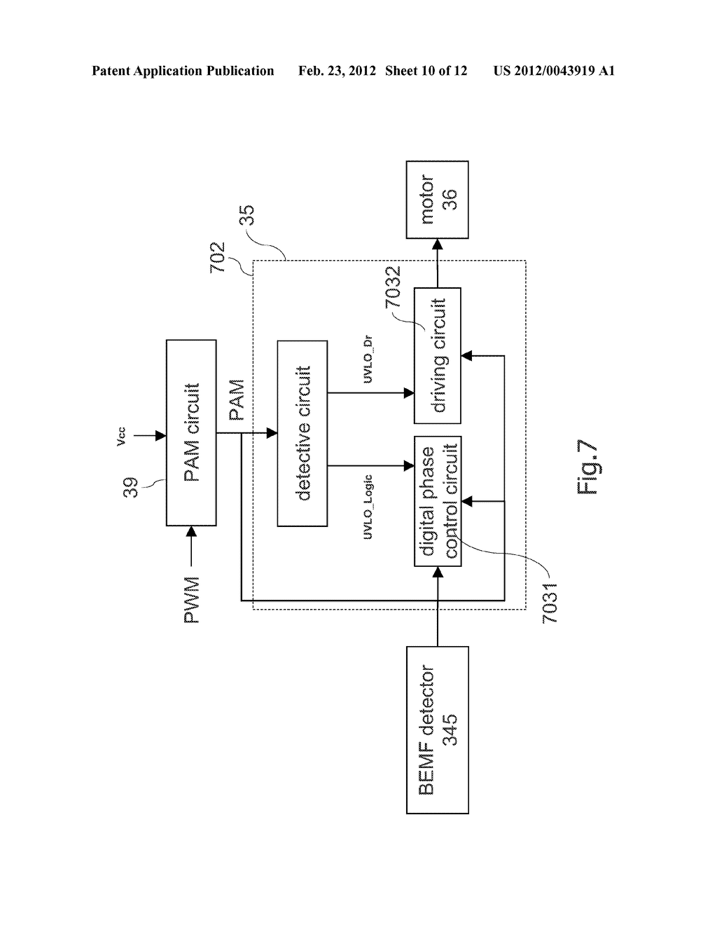 Pulse Amplitude Modulation Method For The Dc Brushless Motor Circuit Diagram Schematic And Image 11