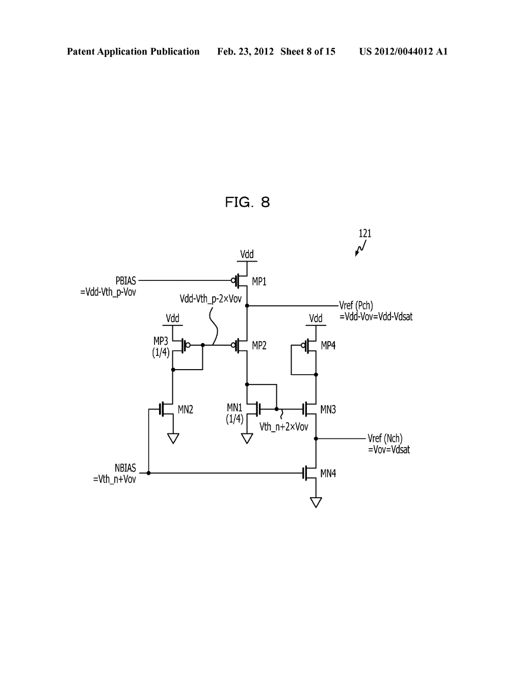 REFERENCE VOLTAGE GENERATOR CIRCUIT AND IMAGE PROCESSING APPARATUS - diagram, schematic, and image 09