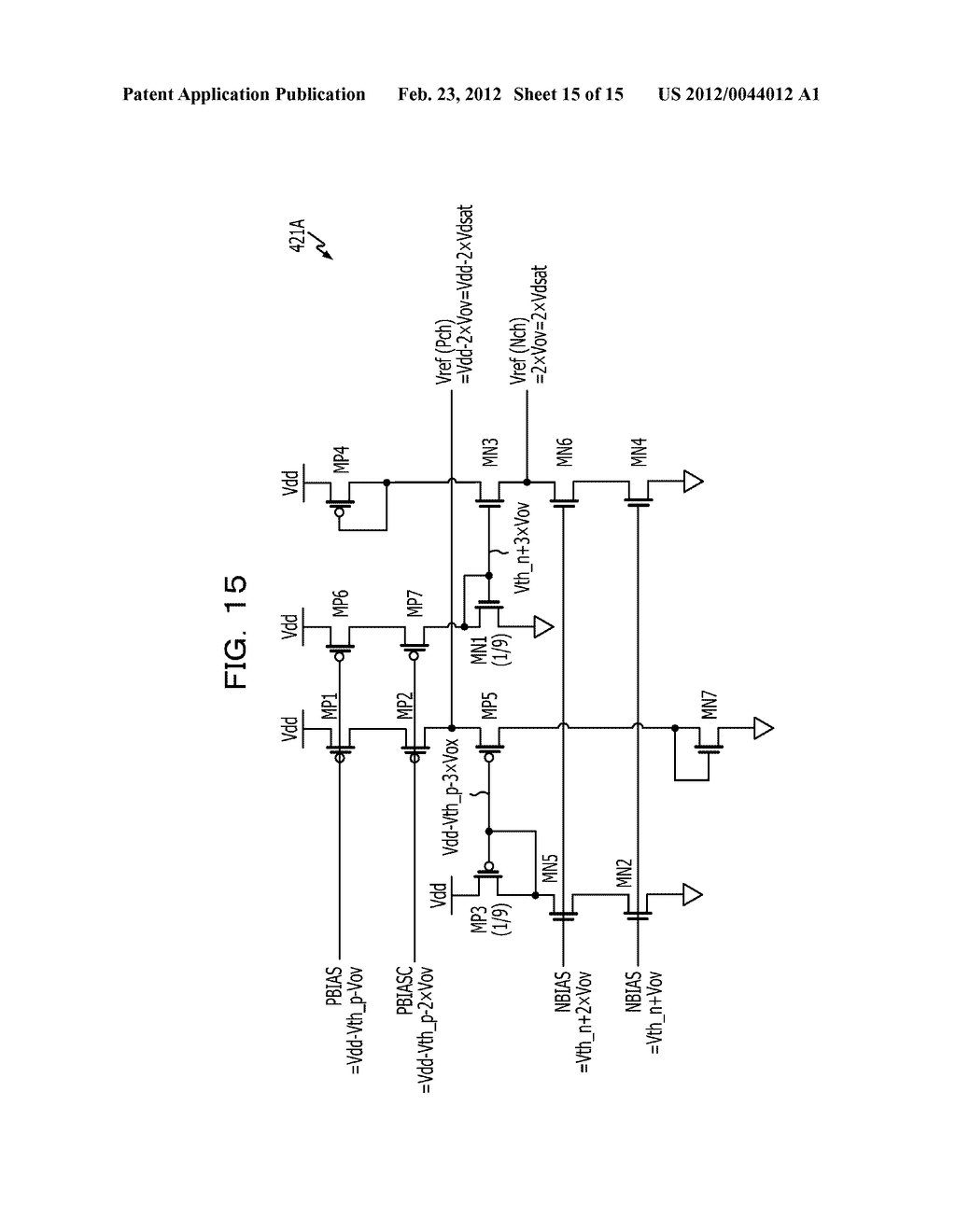 REFERENCE VOLTAGE GENERATOR CIRCUIT AND IMAGE PROCESSING APPARATUS - diagram, schematic, and image 16